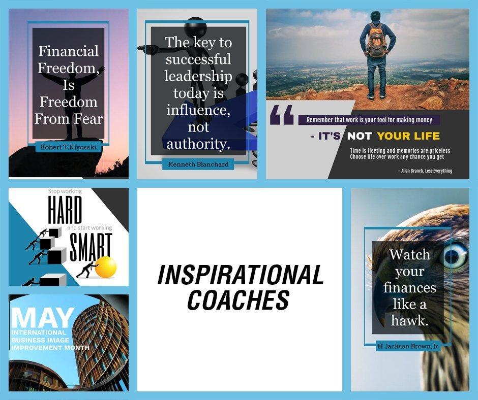 Inspirational Coaches FB BLUE