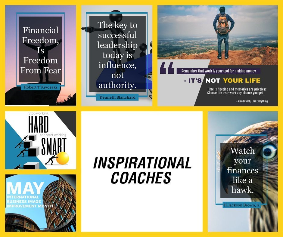 Inspirational Coaches FB YELLOW