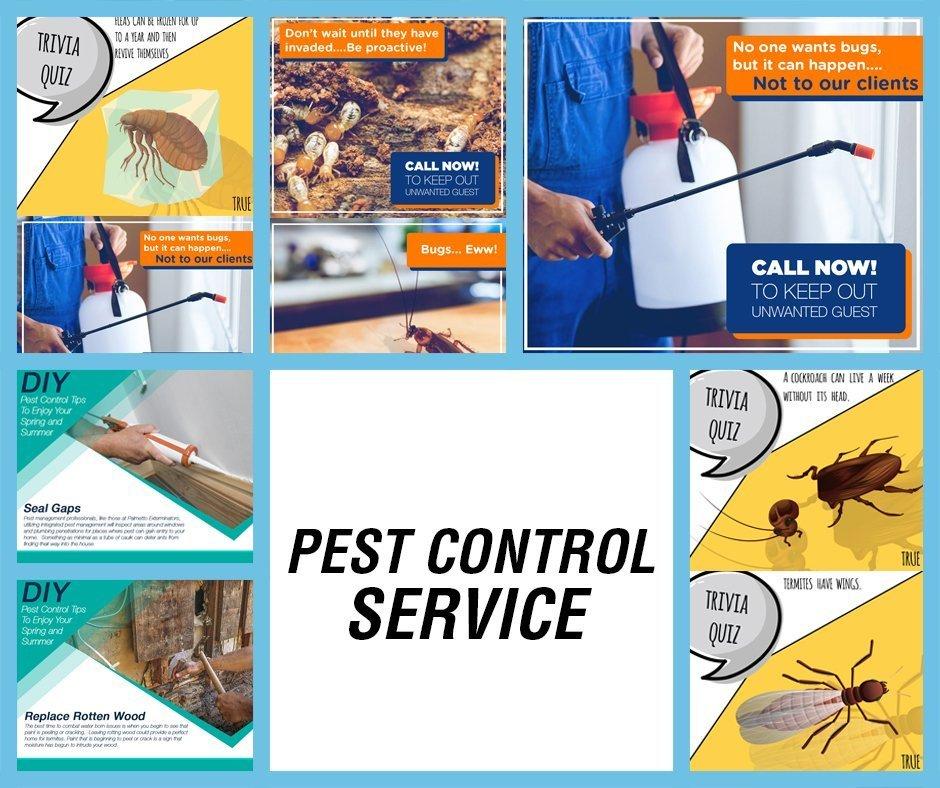 PEST CONTROL FB BLUE