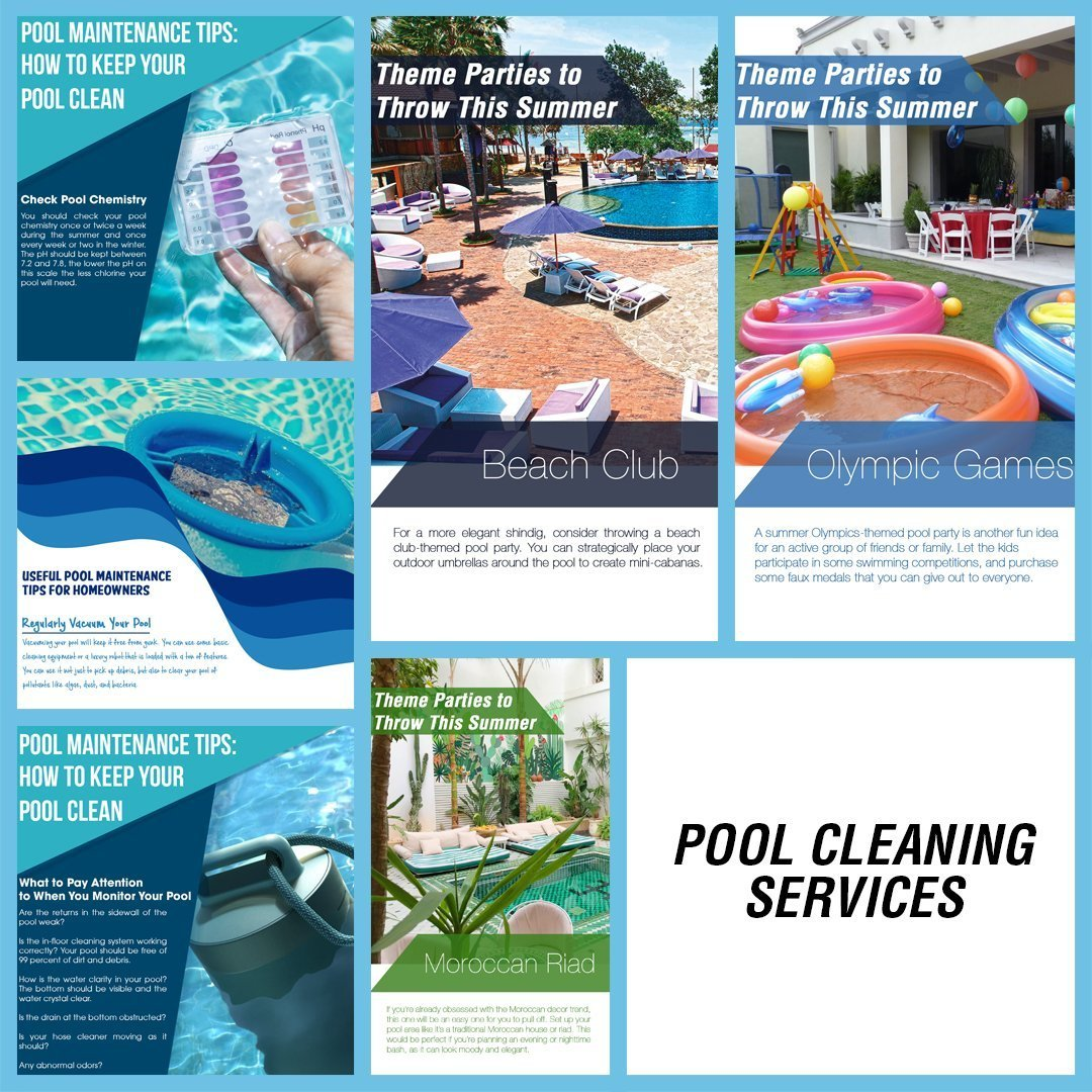 POOL SERVICES INSTAGRAM BLUE