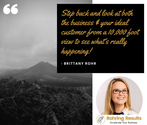 Social media marketing consulting by Brittany Rohr & Rohring Results